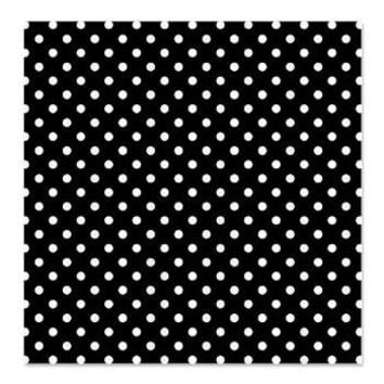 Black With White Polka-dot Shower Curtain> Shower Curtains> KCavender Designs