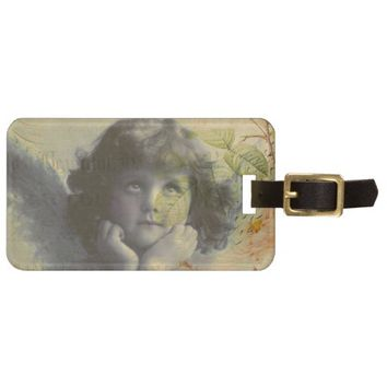 French Postcard Bag Tag