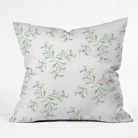 Nature Bliss Throw Pillow Rosebudstudio