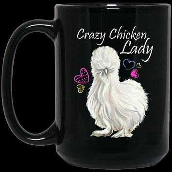 Crazy Chicken Lady Gifts, Chicken Lady Coffee Mug