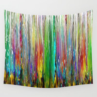 The Field of Tall Grass Wall Tapestry by Jenartanddesign