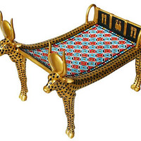 Cow Mehetweret Bed Couch from Tutankhamun's Tomb - 5579