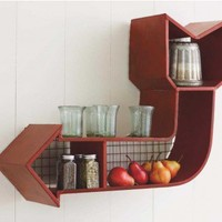 Retro Arrow Shelf - VivaTerra