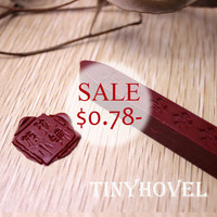 1 pc Wicked Sealing Wax Stick for Wax Seal Stamp - Deep Red