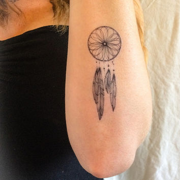 2 Dreamcatcher Temporary Tattoos- SmashTat