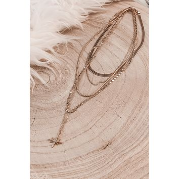 The North Star Gold Layered Necklace