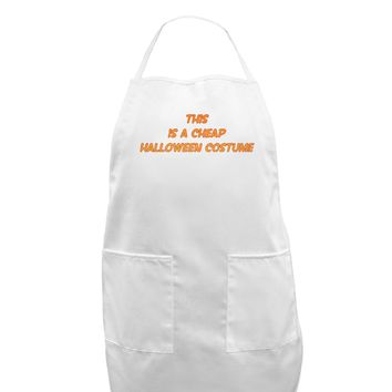 This is a Cheap Costume Adult Apron