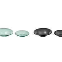 RECYCLED GLASS BOWLS | Element, Smoke, Sea, Wedding, Registry, Recycle, Window, Dessert, Soup, Bowl | UncommonGoods