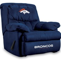 Denver Broncos Microfiber Home Team Recliner