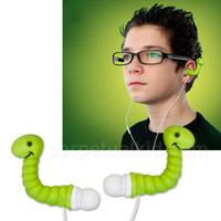 $12.99 EAR WORMS EAR BUDS  -Perpetual Kid