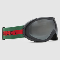 Gucci Ski goggles with Gucci logo and Web detail