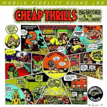 Big Brother & The Holding Company (Janis Joplin) - Cheap Thrills [2LP] (180 Gram 45RPM Audiophile Vinyl, limited/numbered)
