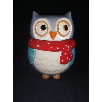 Boston Warehouse Trading Co. Snowy Owl Cookie Jar