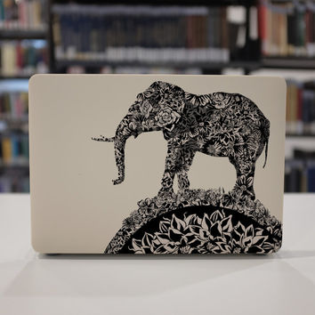 macbook pro case rubberized front hard cover for apple mac macbook air pro touch bar 11 12 13 15 elephant