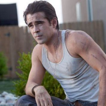 Colin Farrell Poster Standup 4inx6in