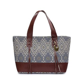 Phive Rivers Women's Jacquard Fabric Tote Bag -PRU1359