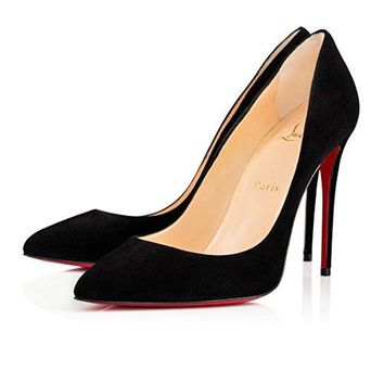christian:louboutin Brand New Womens Pigalle Follies 100 Heeled Sandals