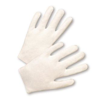 ONETOW West Chester 705L 100% Cotton Lisle Gloves, Women's, White