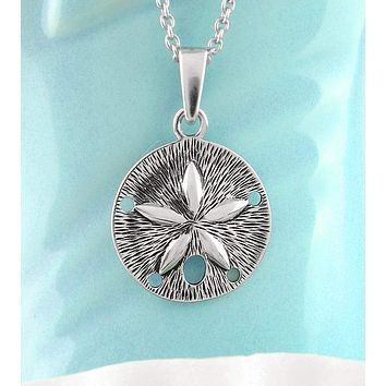 Miniature Sand Dollar Necklace