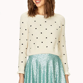 FOREVER 21 Dazzling A-Line Skirt Mint