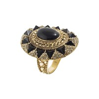House of Harlow 1960 Jewelry Wari Ruins Cocktail Ring