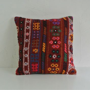 Turkish Kilim Pillow 004