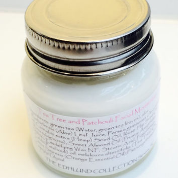 TeaTree & Patchouli Facial Set/ Betonite Clay Bar with Moisturizer/Soapie Shoppe Haywood Mall