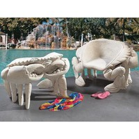 Sculptural King Crab Chair | Outdoor Living | SkyMall