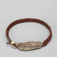 Curved Feather Bracelet