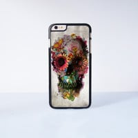 "The Skull Flower Plastic Phone Case For iPhone iPhone 6 Plus (5.5"") More Case Style Can Be Selected"