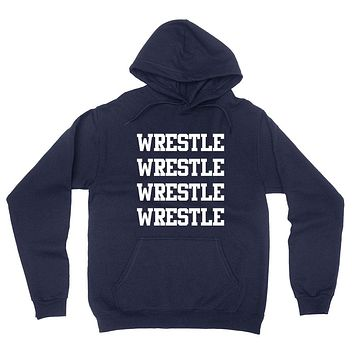 Wrestle, gift for wrestler, sport gifts, game day, team hoodie