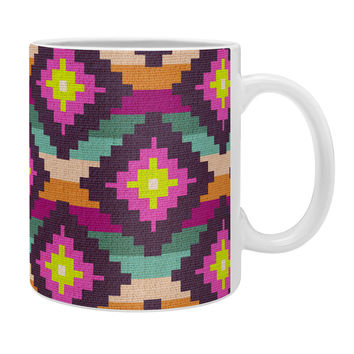 Bianca Green Aztec Diamonds Hammock Coffee Mug