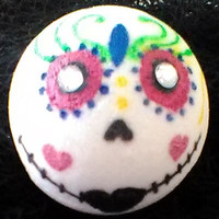 Mini Sugar Skull Mani Pedi Bath Bombs