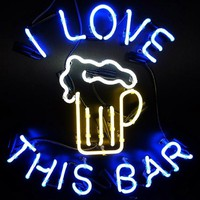 Love This Bar Neon Sign