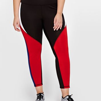 Nola Reversible Cropped Legging | Addition Elle