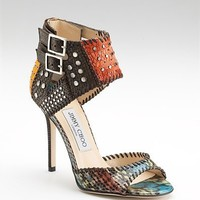 Jimmy Choo Elapheskin Eelskin Sandals - $172.00
