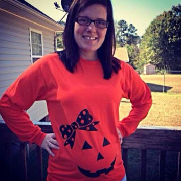 Maternity Halloween Shirt