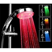 Amazon.com: Bathroom Shower Heads Temperature Controlled Lights 3 Colors LED Light Shower Head: Everything Else