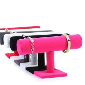 Fashion Bracelet Watch Jewelry  Chain Display Holder Stand Organizer Rack Jewelry Store Accessories (without Bracelet)