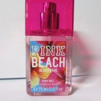 Victoria's Secret Pink Beach Beach Babe Body Mist E75 Ml/2.5 Fl Oz Travel Size