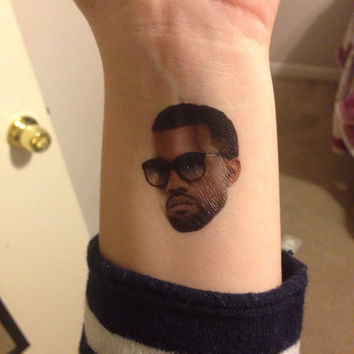 KANYE WEST Temporary Tattoos