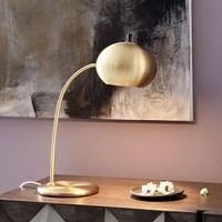 Petite Arc Metal Table Lamp
