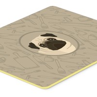 Pug In the Kitchen Kitchen or Bath Mat 20x30 CK2204CMT