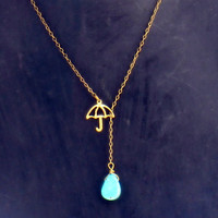 rainy day necklace <3