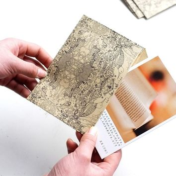 10Pcs/Bag Recycled Paper Letter Vintage Retro Kraft Paper Envelope Business Cards For High Quality Style School Office Supplies