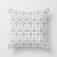 Arrows Pattern Bright Throw Pillow by Kathrinmay