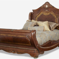 Cortina Queen Sleigh Bed by Aico