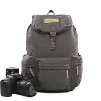 Leisure Backpack Safari DSLR Camera Bag Professional Camera Backpack Canon Nikon Bag bbk-S2 Gray