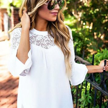 Oh So Lovely Lace Top