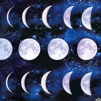 timeless treasures moon phases - Google Search